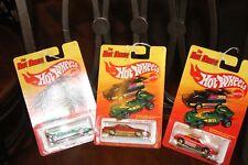 2011 Hot Wheels the Hot Ones El Rey/Pontiac Firebird/Pontiac Fiero/Sol Aire/Jeep