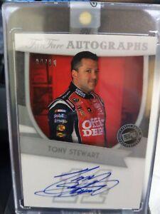 2012 FANFARE TONY STEWART AUTO CARD#FF-TS 9/10