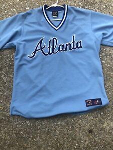 atlanta braves vintage jersey XL Made In USA