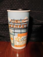 Starbucks Travel Mug Cup Only @ 1st Store Pike Place Limited Edition RETIRED HTF
