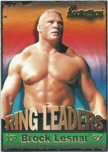 Brock Lesnar 2003 Fleer WWE Aggression Ring Leaders #3RL