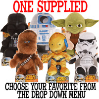 Star Wars 10-Inch plush soft toy in Gift Box ONE SUPPLIED you choose