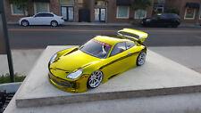 200mm Custom Paint 911 USGT Sprint2 TT01 Lipo HPI Body 1/10 Drift 4Tec Nitro