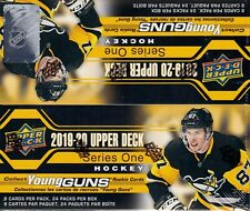 2019-20 Upper Deck Series 1 Hockey sealed retail box 24 packs of 8 NHL cards