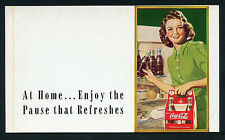 COCA-COLA Advertising Pause That Refreshes 1930s Six Pack ~ RECENT Arrival
