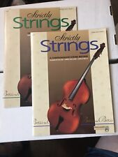 Strictly Strings String Bass Method Books 2 & 3