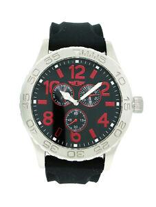 I by Invicta IBI41705-004 Men's Round Analog Day Date Red Black Watch