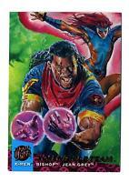 Fleer 1994 X-Men Ultra #111 X-Overs Gold Team Part 3 Card Bishop Jean Grey
