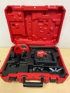 Milwaukee 3632-21 M12 Green 360 Degree 3-Plane Laser Kit
