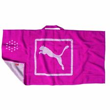 PUMA PLAYER'S GOLF TOWEL -BEETROOT PURPLE- NEW