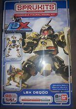 SPRUKITS Poseable Model Kit LBX DEQOO BAN DAI 98 pcs LEVEL 2