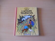 belle eo tintin l'affaire tournesol b20 1956
