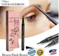 7 Days Eyebrow Tattoo Pen Liner Waterproof Long Lasting Makeup Cosmetic Tool_AU