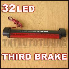 Tercera Luz de Freno Universal 12V 32 LED Rojo 12v 3M Adhesivo