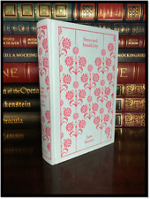 Sense and Sensibility by Jane Austen New Deluxe Cloth Bound Hardcover w/ Ribbon