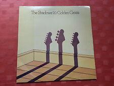 70's LP's on Sale The Shadows 20 Golden Greats EMI EMTV3 Album VG+ See pics DLP1