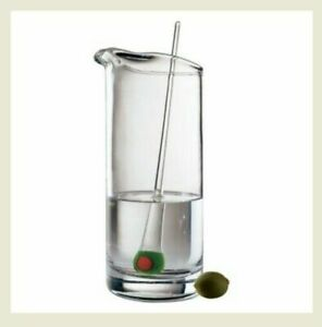 The Celebration Collection Martini Pitcher with Olive Stirrer- 32 oz- by Artland