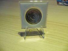 Lot de 5 Supports chevalet en Plastique transparent pour exposer vos monnaies