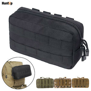 Tactical Molle Pouch Horizontal Admin Pouch EDC Pouch Outdoor Utility Tool Bag