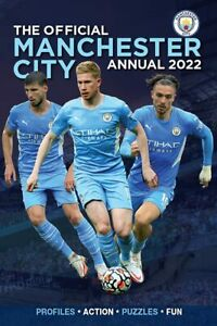 The Official Manchester City Annual 2022 By David Clayton - Hardback