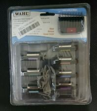 Wahl Stainless Steel Attachment Guide Combs for 30 Blade New Open Box Read Desc