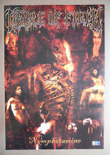 CRADLE OF FILTH poster format environ 37 x 54 cm NYMPHETAMINE