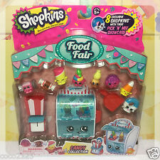 SHOPKINS Food Fair - CANDY COLLECTION - 8 Exclusive Shopkins & Accessories NEW