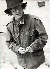 Photo Woody Allen - Tirage argentique d'époque 1969 - 20 x 30 -