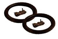 2x Fahrradreifen 16 Zoll Reifen 16 x 1.75 47-305 mit 2x Fahrrad-Schlauch im Set