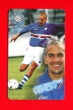 CALCIO CALLING 1997-98 Panini 1997 - Card n. 52 - VERON - SAMPDORIA -New
