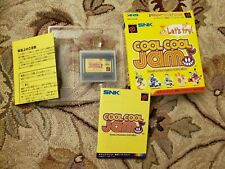 Neo Geo Pocket Color Cool Cool Jam Complete
