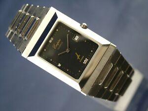 Vintage Empire Muslim Mecca Quartz Watch 1984 Swiss NOS New Old Stock FLIP FRONT
