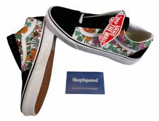 Vans Old Skool (Tropic Floral) Black Canvas Suede Shoes Sz 10 Women's NIB New 🔥