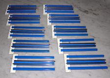 Lego® Eisenbahn 12V 10x Schienen Gerade 750 156 Trains blau Geraden 60er 70er