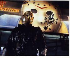 Kane Hodder Autograph FRIDAY 13th MANHATTAN JASON Signed 8x10 Photo AFTAL [5220]