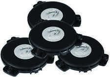 Dayton Audio TT25-16 Puck Tactile Transducer Mini Bass Shaker Exciter (4 Pack)
