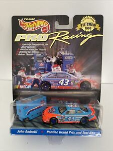 Hot Wheels Pro Racing Pit crew #43 John Andretti STP Pontiac Grand Prix