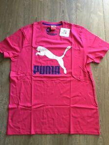 Puma Herren T-Shirt No 1 Logo Tee , Beetroot Purple , 564465-47 , Neu