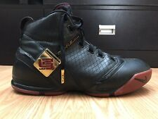 Nike Zoom LeBron 5 Men's Shoes Size 13 Black Red Basketball Athletic 317253-001