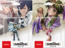 NEW Nintendo 3DS wii U Amiibo Tiki (Chiki) & Chrom set Fire Emblem Series JAPAN