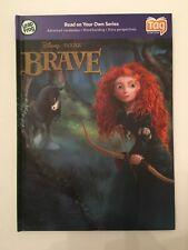 NEW LeapFrog LeapReader & TAG 3D Book Disney Pixar Brave Merida Book