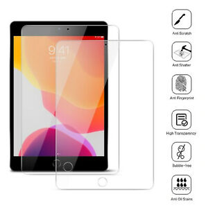 2 Pack Tempered Glass Screen Protector For Apple iPad 10.2 (2020) 8th Generation