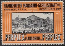 German Cinderella: 1920s Frankfurt Margarine-Gesellschaft, Festhalle - cw47.32