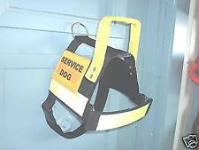 DOG HARNESS SERVICE DOG ASSISTANCE DOG THERAPY DOG CUSTOM MADE SIZE TEXT ETC...
