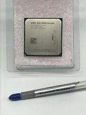 AMD A10-5800 3.8GHz Quad-Core Processor AD580BWOA44HJ CPU FM2  & Thermal Grease