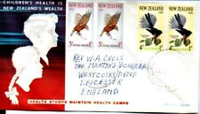 New Zealand 1965 Health pair x 2 pairs on FDC  - SALE