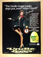 1980 Joyce DeWitt photo L'eggs Undie-Leggs Pantyhose vintage print Ad