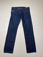 DIESEL IAKOP SLIM TAPERED Jeans - W33 L32 - Navy - Great Condition - Men's