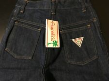 Vintage 80s NWT Palmetto's Girls High Waisted Blue Jeans Size 12T/9JR Made USA