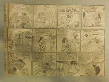 "(308) ""Li'l Abner"" Dailies by Al Capp from 1941  6 x 6 & 3 x 10 inches"